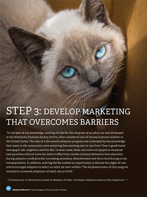 Adopters Welcome: Develop marketing that overcomes barriers