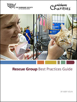 Rescue Groups Best Practices Guide cover