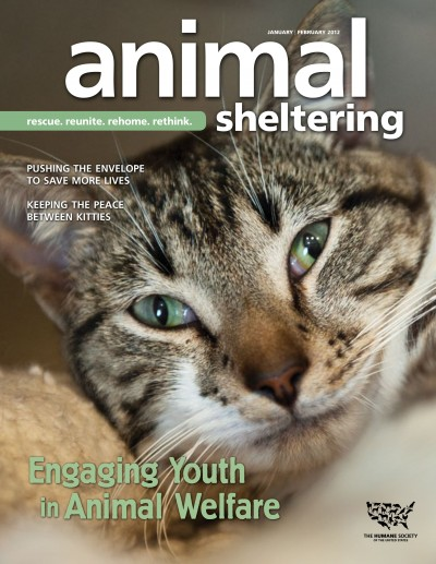 Animal Sheltering magazine January/February 2012