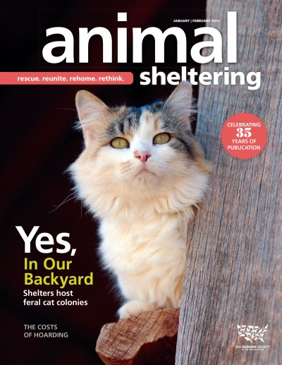 Animal Sheltering Magazine January/February 2013