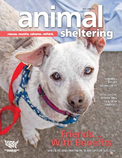 Animal Sheltering magazine May/June 2012