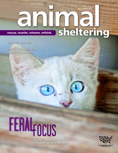 Animal Sheltering magazine July/August 2012