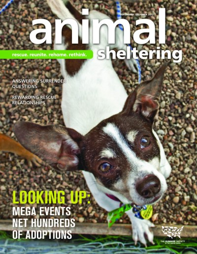 Animal Sheltering magazine September/October 2012