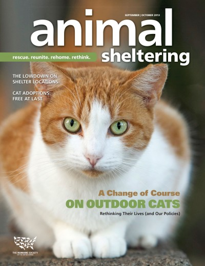 Animal Sheltering Magazine September/October 2013