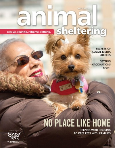 Animal Sheltering Magazine May/June 2014
