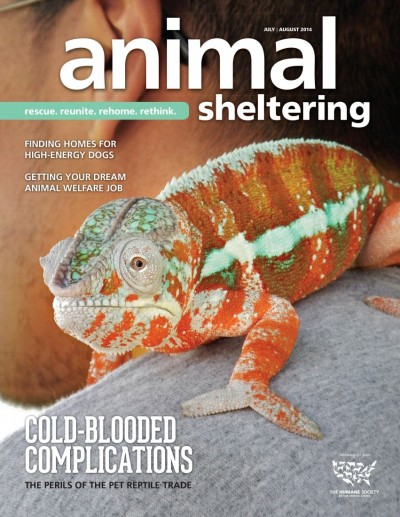 Animal Sheltering Magazine July/August 2014