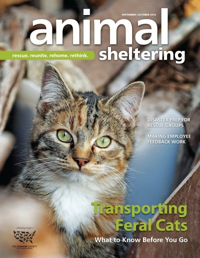 Animal Sheltering Magazine September/October 2014