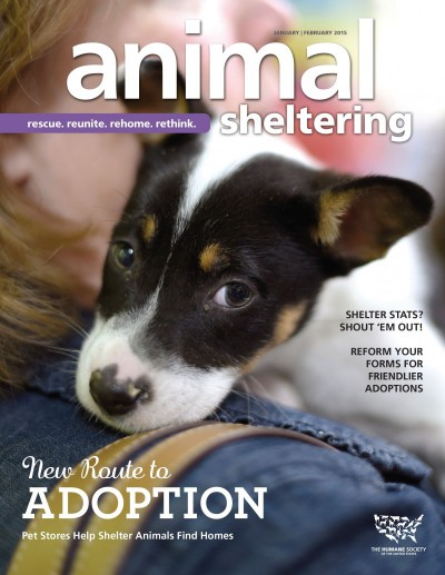 Animal Sheltering magazine January/February 2015
