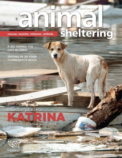 Animal Sheltering magazine March/April 2015