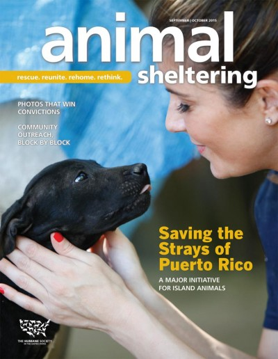 Animal Sheltering Magazine September/October 2015