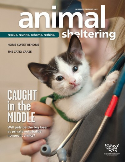 Animal Sheltering magazine November/December 2015