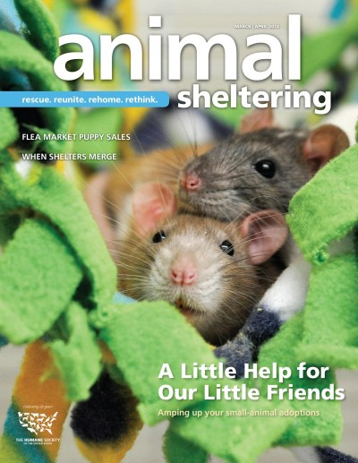 Animal Sheltering Magazine March/April 2014