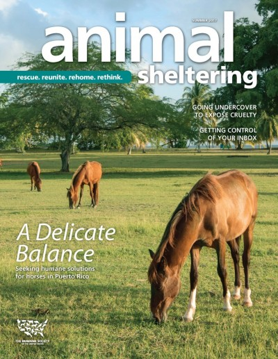 Animal Sheltering magazine Summer 2017