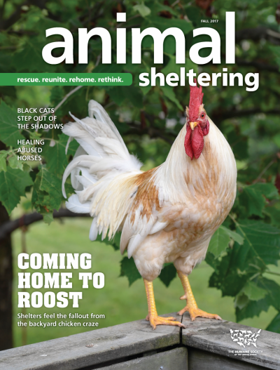 Animal Sheltering magazine Fall 2017