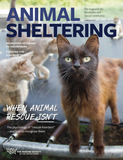 Animal Sheltering magazine Summer 2018