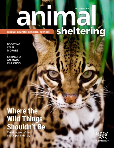 Animal Sheltering magazine July/August 2016