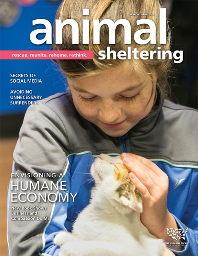 Animal Sheltering magazine March/April 2016