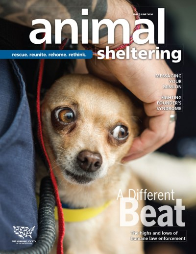 Animal Sheltering magazine May/June 2016