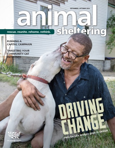 Animal Sheltering magazine September/October 2016