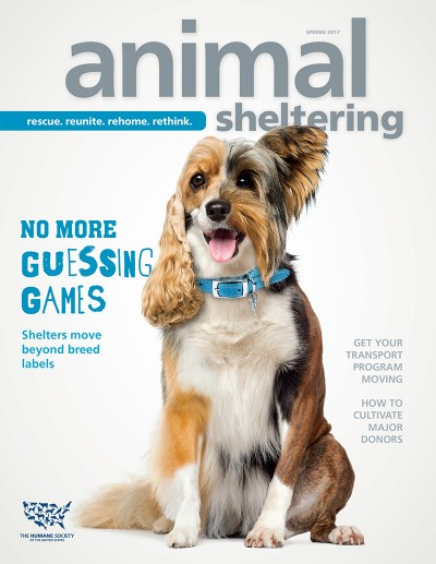 Animal Sheltering magazine Spring 2017