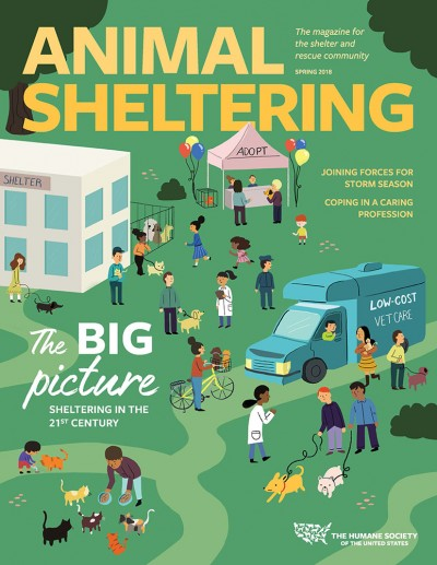 Animal Sheltering magazine Spring 2018