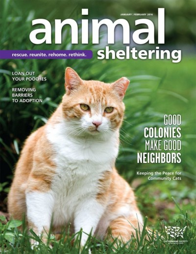 Animal Sheltering Magazine January/February 2016
