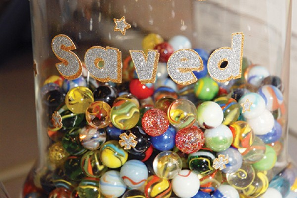For every life saved, staff at Stockton Animal Services add a marble to a jar at the front desk. Since partnering wiht the San Francisco SPCA, the shelter has been able to stockpile more marbles than staff thought possible.