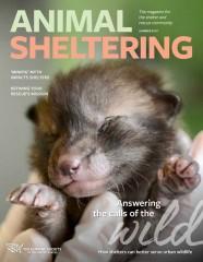 Animal Sheltering magazine summer 2019 cover