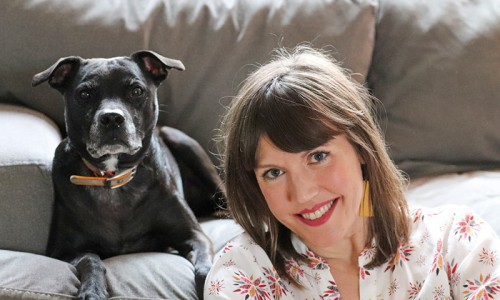 Seized in a 2009 dogfighting raid, Plum is Anne Sterling's constant companion and a reminder of the lifesaving power of teamwork.